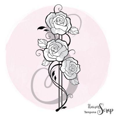 Tampon Composition de Roses