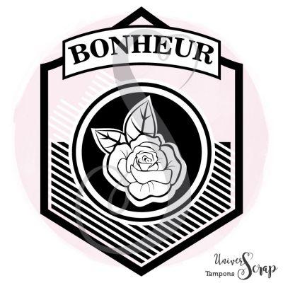 Tampon Hexagone bonheur