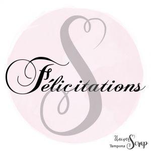 Tampon Félicitations
