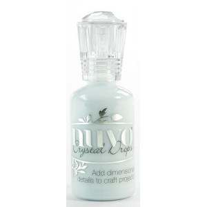 Nuvo Crystal Drops Duck Egg Blue