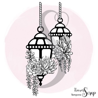 Tampon Lanternes & Succulentes