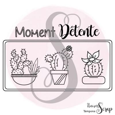 Tampon Moment Détente & Cactus