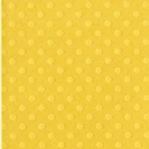 CORNMEAL DOT -Papier Bazzill 30X30