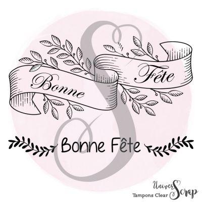 2 Tampons Clear Bonne Fête