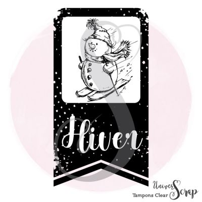1 Tampon Clear Tag Hiver