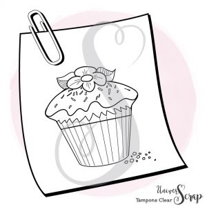 1 Tampon Clear Cupcake