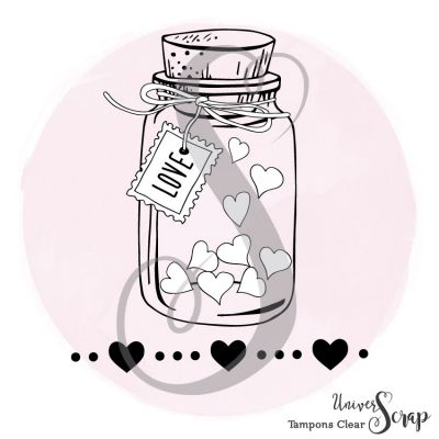 2 Tampons Clear Jar Love