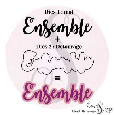 Dies & son détourage Ensemble