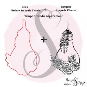 Dies Modulo Ampoule fleurie