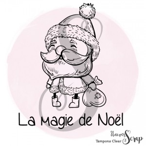 2 Tampons Clear Magie de Noël