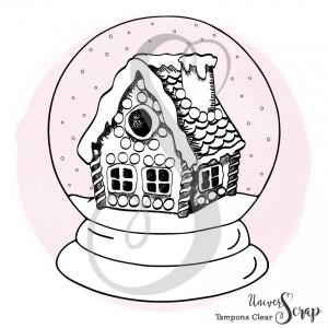 1 Tampon Clear Boule à neige