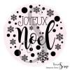 1 Tampon Clear Joyeux Noël