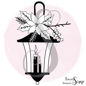 Tampon Lanterne d'hiver