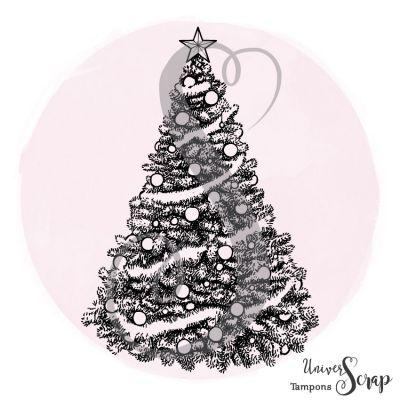 Tampon Sapin de Noël