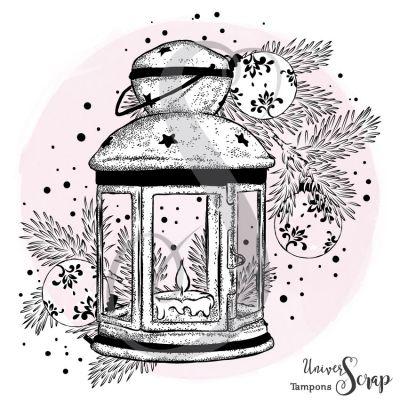Tampon Lanterne de Noël
