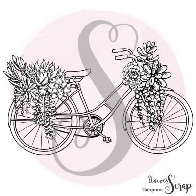 Tampon Vélo Fleuri