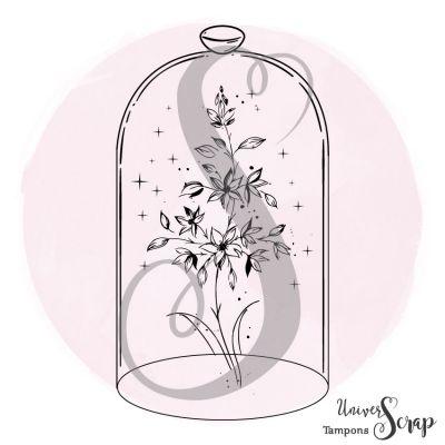 Tampon Fleur sous cloche