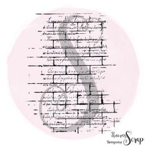 Tampon Fond Mur Script