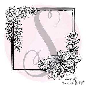 Tampon Grand cadre & Succulentes
