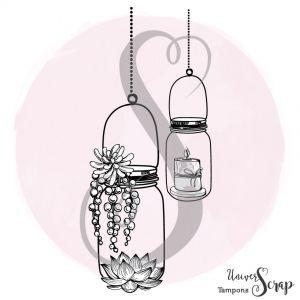 Tampon Jar & Lotus