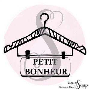 1 Tampon Clear Cintre petit Bonheur