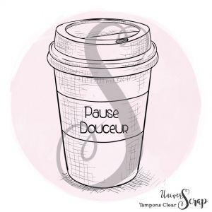 1 Tampon Clear Mug Pause Douceur