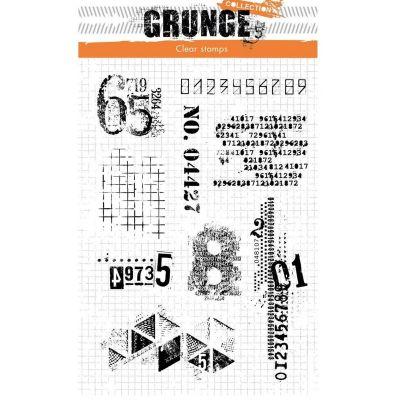Tampon Grunge Chiffres