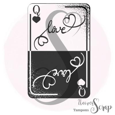 Tampon Carte love