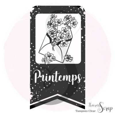 Tampon Clear Printemps