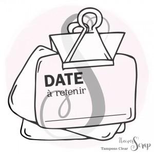 Tampon Clear Date à retenir