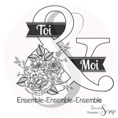 Tampon Esperluette Ensemble