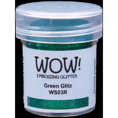 Poudre à Embosser Green Glitz