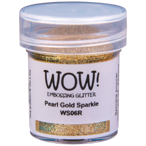 Poudre à Embosser Pearl Gold Sparkle