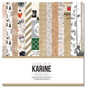 Kit 30x30 Woodland (Karine)