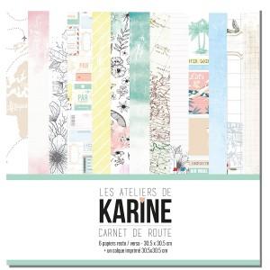 Kit 30x30 Carnet de Route (Karine)