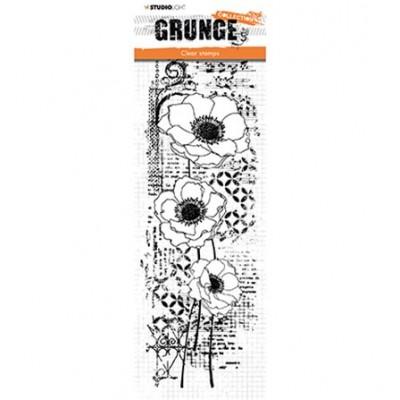 Tampon Grunge floral