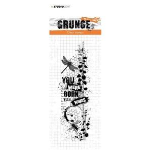 Tampon Grunge Libellule