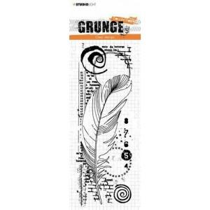 Tampon Grunge Plume