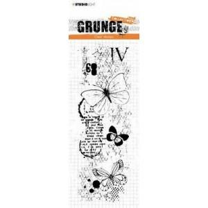 Tampon Grunge papillons