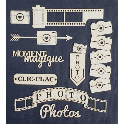 Planche Bois Universcrap Photo clic clac