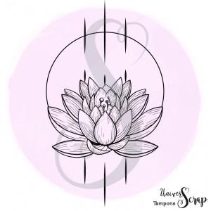 Tampon Fleur de lotus
