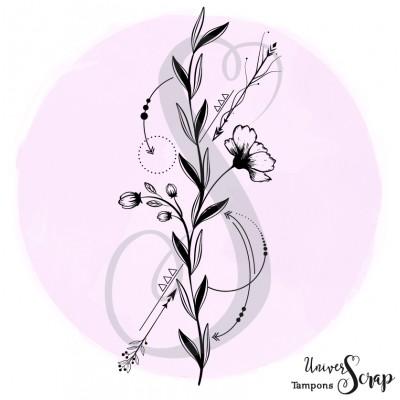 Tampon Fleur & Flèches
