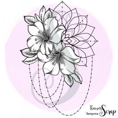 Tampon Fleurs & Mandala