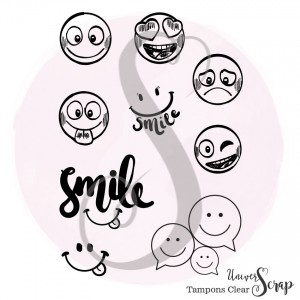 9 Tampons Clear Smileys