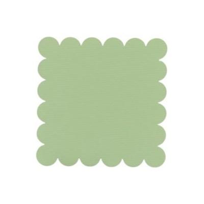 SCALLOPED APPLE GREEN