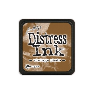 Mini Distress Vintage Photo