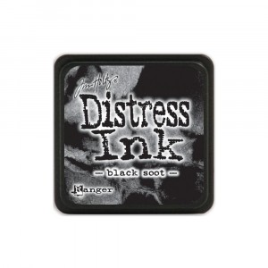 Mini Distress Black Soot