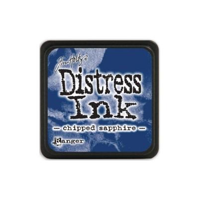 Mini Distress Chipped Sapphire