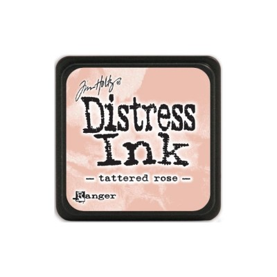 Mini Distress Tattered Rose