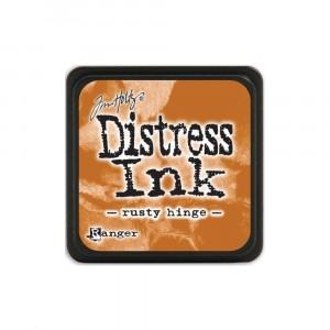 Mini Distress Rusty Hinge